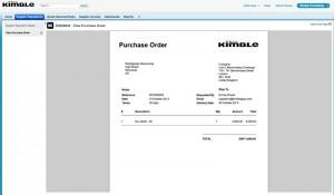 Contractor Self Bill - Supplier PO