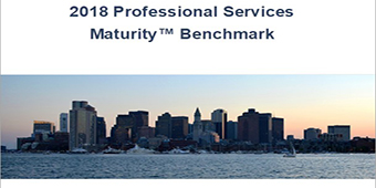 2018 professional services maturity benchmark image