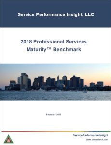 2018 Professional Services Maturity™ Benchmark — Download