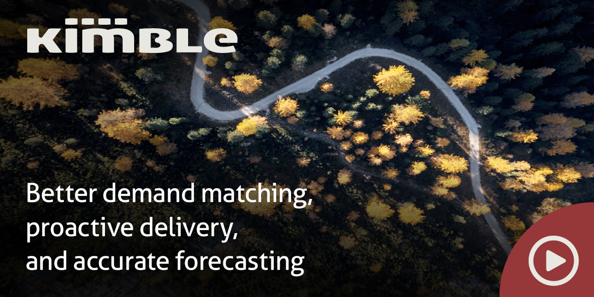 Kimble has better demand matching, proactive delivery, and accurate forecasting