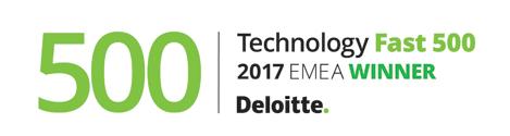 Deloitte Fast500 Winner EMEA 2017