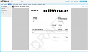 Order to Cash - Draft Invoice