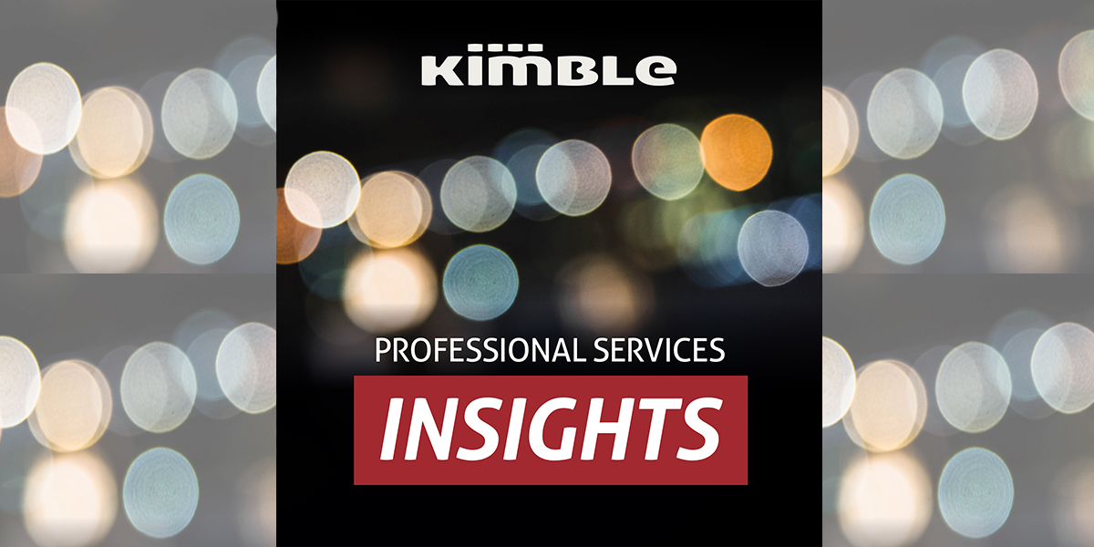 Kimble Professional Services Insights Podcast Logo Image