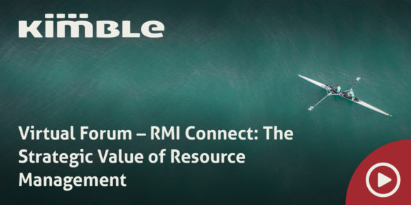 Virtual Forum – RMI Connect The Strategic Value of Resource Management featured image