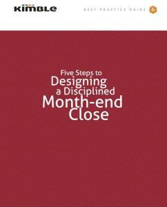 How To Design a Disciplined Month-end Close