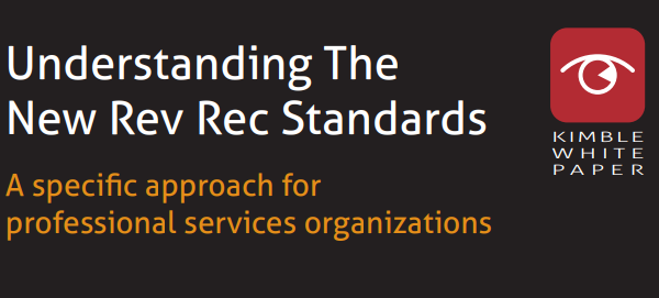 Kimble white paper about understanding the new rev rec standards
