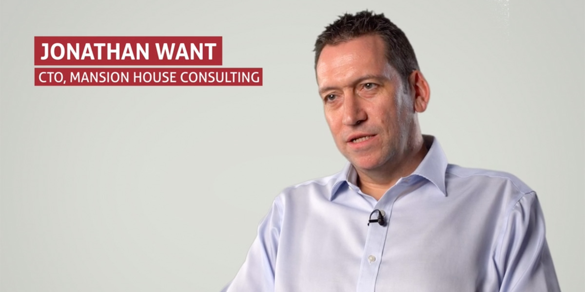 Jonathan want, cto, mansion house consulting