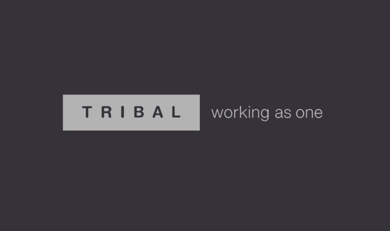 Tribal logo with subtext: